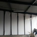 Ściana w konstrukcji aluminiowej nośnej